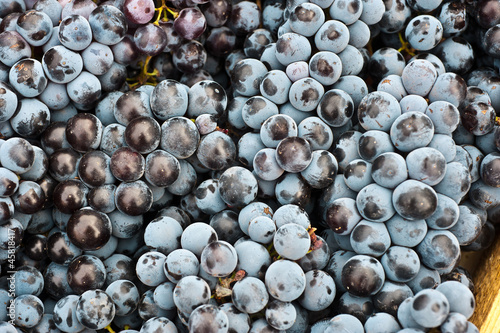 Grapes At A Street Market