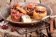 Bratapfel rustikal mit Vanille