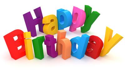 3D Happy Birthday