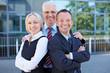 Team von erfolgreichen Geschäftsleuten