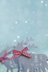 Rudolph im Schnee