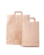 two shopping bag on white