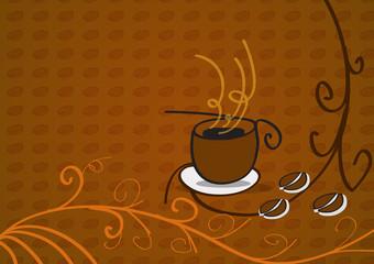 Tazza di caffè vector