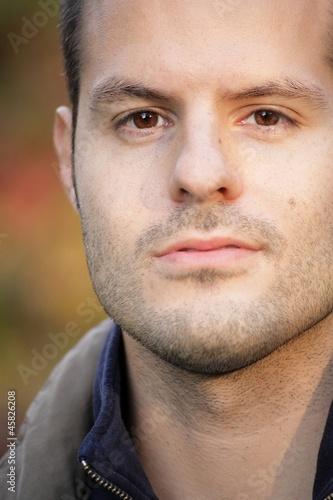Herbstportrait close-up