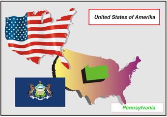Vereinigte Staaten von Amerika -Pennsylvania