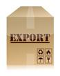 export box illustration design