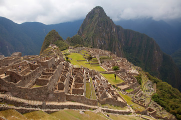 Views around Machu Picchu Inca ruins