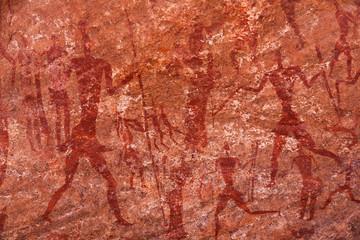 Petroglyphs in Sahara