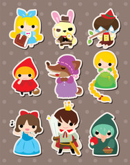 cartoon story people stickers