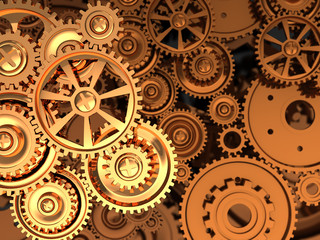 Golden gears