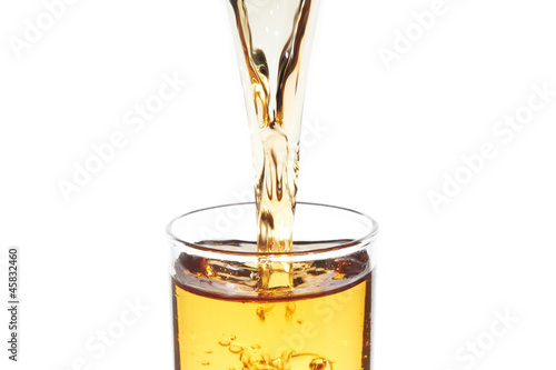 Flowing beverage