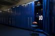 canvas print picture - Football Locker Room