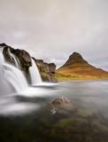 Fototapeta chmura - fiord - Dziki pejzaż
