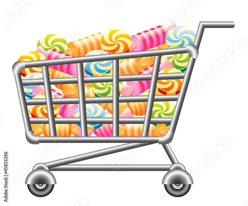 Shoppingcart with Sweetmeat