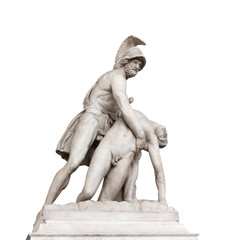 Menelaus supporting body of Patroclus