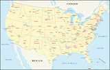 United States of America, Lake, River