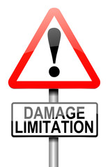 Damage liability concept.