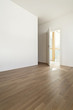 interior of a modern home, empty room