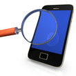 Smartphone With Loupe