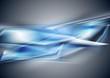 Abstract blue elegant design