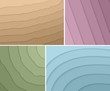 Set of elegant backgrounds. Vector