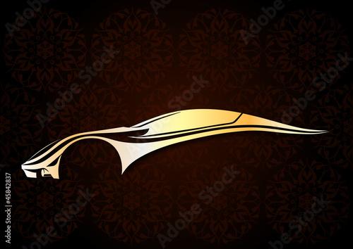 Değişik bir otomobil logosu