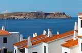 Cap de Cavalleria,view from Fornells village,Menorca