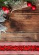 traditioneller weihnachtlicher Hintergrund