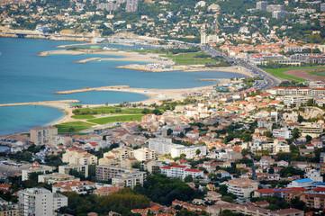 Carte postale - Marseille - Les plages du Prado