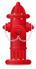 fire hydrant vector illustration