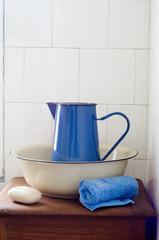 Retro Bathroom Washstand