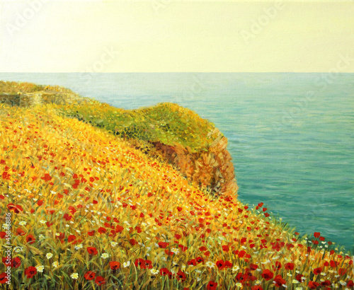 Poppies on Kaliakra I