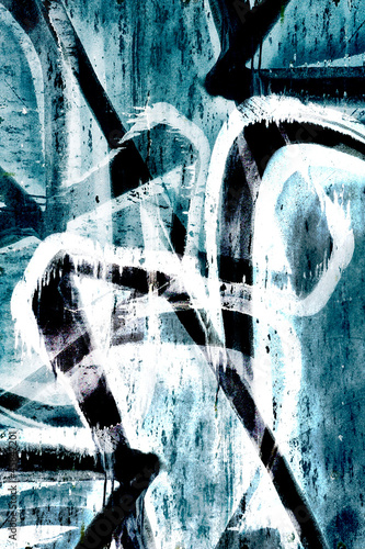 Close up abstract graffiti background