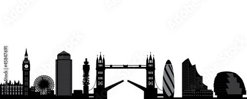 london skyline - 45847691