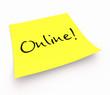 Notizzettel - Online!