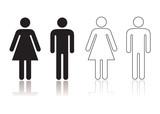Restroom symbol