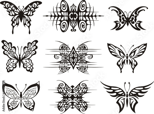 xs字母纹身设计分享展示