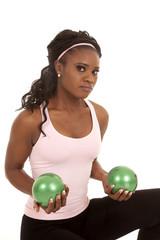 green balls weights