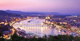 View of Budapest with Danube