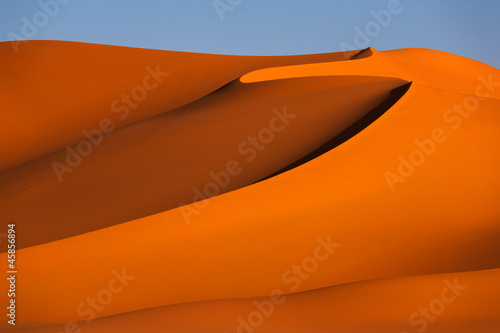 Fotobehang Algerije Abstract, sand