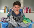 Unmengen dreckige Wäsche