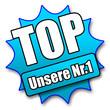 """Siegel """"Top - Unsere Nr. 1"""""""