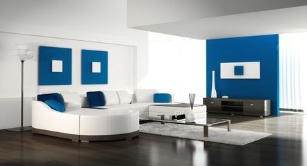 Luxuriöses Wohnzimmer |  Design Interior Loft
