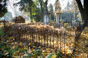 Old evangelical graveyard