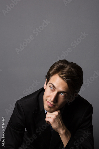 Cooler Geschäftsmann