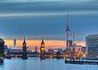 Fototapeten,berlin,orientierungspunkt,hauptstadt,abend