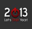 new year 2013 starts