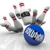Problem Solution Solved Bowling Ball Pins