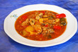 traditionelle Fischsuppe