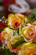 pink roses floral arrangement